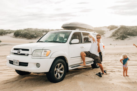 Toyota on the Beach in Avon, North Carolina